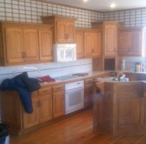 Kitchen Cabinet Remodeling Before photo