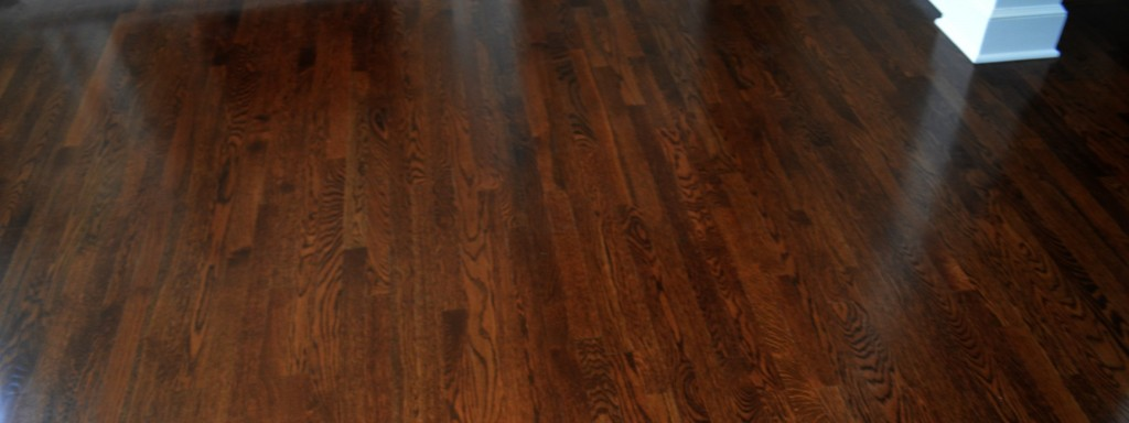 Dark Hardwood Floors by Artisan Construction, 7321 N Antioch Gladstone, MO  64119